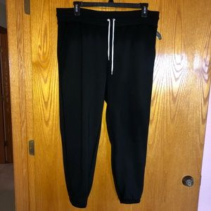 Women's NWOT black sweats size XL